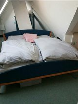 Hülsta Bed with Mattresses 180x 200 Free Delivery in Stuttgart, GE
