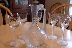 Decanter and Goblets in Alamogordo, New Mexico