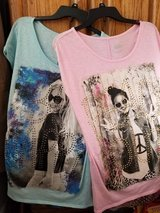 Girls clothing  Justice 2 shirts sz 18 in Orland Park, Illinois