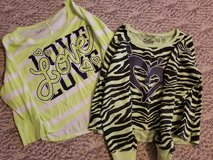 Girls 2 long sleeve shirts Justice 14 in Orland Park, Illinois