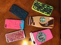 iPhone Cases for 5S or SE (Starbucks, PINK, etc) in Oswego, Illinois