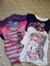 Girls Justice shirts sz 12 in Orland Park, Illinois