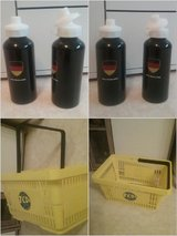 drinking bottle Germany, portable plastic basket in Baumholder, GE