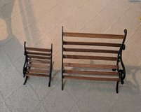 18 in doll bench and chair set in Bolingbrook, Illinois