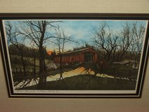 Lonnie C. Blackley Jr. artist Covered Bridge Signed and Numbered Prints in St. Charles, Illinois