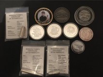 silver coins/ challenge coins in League City, Texas