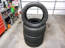 Set Of 4 Yokohama Yk80 225 50 18 Tires in Plainfield, Illinois