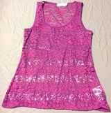 Purple lace and sequins medium tank top in Fort Riley, Kansas