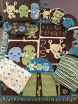 CoCaLo Baby® Peek-A-Boo Monsters Crib Bedding and Accessories in Bolingbrook, Illinois