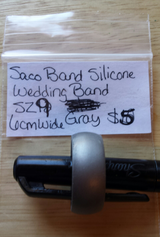 Silicone wedding bands. Size 9 in Fort Campbell, Kentucky