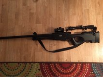 Mauser metal bolt action air soft sniper rifle with Swiss army scope in Fort Campbell, Kentucky
