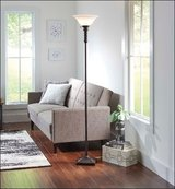 NEW Better Homes & Garden Oiled Bronze Twist Floor Lamp Lighting Shade in Kingwood, Texas