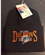 NFL MIAMI DOLPHINS BEANIE CAP NEW NEVER WORN in Ramstein, Germany