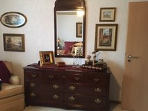 Mahogany Bedroom  Set, excellent condition in Ramstein, Germany