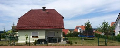 one fam house+yard in vilseck 3 bedr. 3 bathr. 2 car garage +balcony in Grafenwoehr, GE