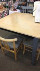Table with one chair in Fort Leonard Wood, Missouri