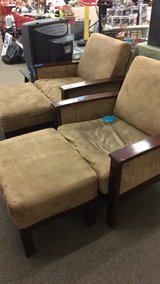 Chair and Ottoman in Fort Leonard Wood, Missouri
