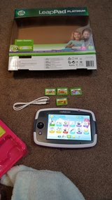 Leap pad platinum with x4 games and leads in Lakenheath, UK