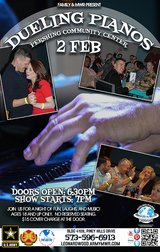 Dueling Pianos in Fort Leonard Wood, Missouri