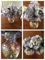 Glass vase floral arrangement in Perry, Georgia