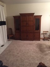 Amish Made Solid Wood Entertainment Center-NEED TO SELL ASAP in Aurora, Illinois