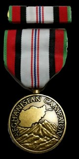 NEW Afghanistan campaign usmc medal in 29 Palms, California