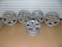 (5) Factory Jeep Wheels in Sanford, North Carolina