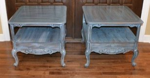 pair of end tables. French design Shabby Chic. in Morris, Illinois