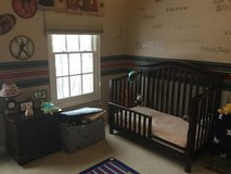 Crib toddler bed nursery set in Plainfield, Illinois