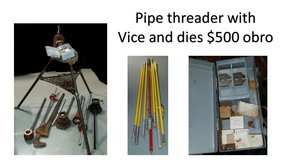 Pipe Threader with vice and dies in Byron, Georgia