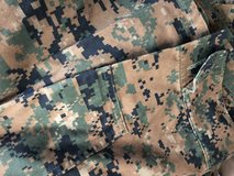 Woodland cammies set in Camp Pendleton, California