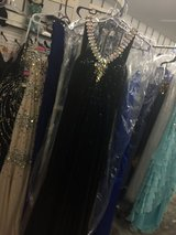 Black Sequin Ball Gown in Camp Lejeune, North Carolina