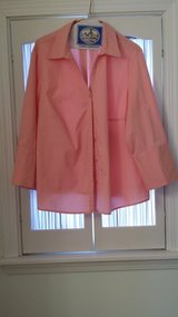 Long Sleeve - Annex - 1X - Pink Blouse in Naperville, Illinois