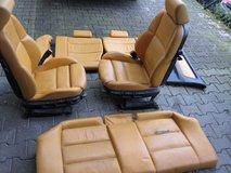 BMW Leather Sports seats/Rear E36 Compact in Ramstein, Germany