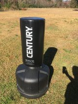 Punching bag with gloves and mitts in Camp Lejeune, North Carolina