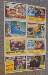 MOVIE LOBBY CARDS in Fort Bliss, Texas