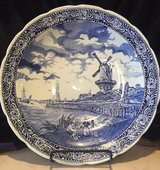 Vintage Blue and White Delft Charger in Lawton, Oklahoma