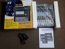 6 Channel Professional Audio Mixer New in Fort Campbell, Kentucky