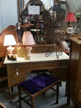 REDUCED!! Marble top vanity w/ mirror and bench in Fort Leonard Wood, Missouri