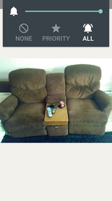 Sectional couch excellent condition in Fort Campbell, Kentucky