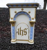 antique tabernacle made of wood in Baumholder, GE