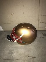Adult football helmet in Camp Pendleton, California