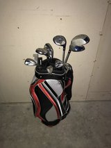 Wilson club set with Marine Corps bag in Camp Pendleton, California