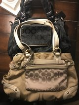 2 coach purses and two clutch/wallets in Vista, California