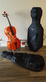 Cello 4/4 for student band in Fairfield, California