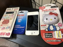 iPhone 4s plus freebies in Okinawa, Japan