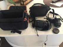 Samsung NX 300 With lens and bags in San Antonio, Texas