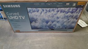 brand new in the box 49 inch Samsung curved Smart TV in Fort Bliss, Texas