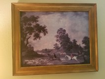 Fox Hunting in Full Cry Framed Print by James Seymour in Spring, Texas