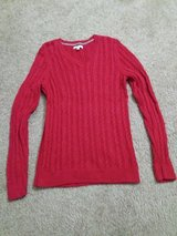 Croft and Barrow red sweater in Fairfield, California